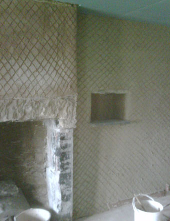 How Lime Goes Onto Walls (the Layering System)
